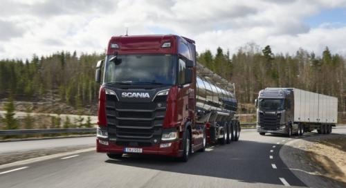 Scania introduce noua generatie de motoare Euro 6 V8